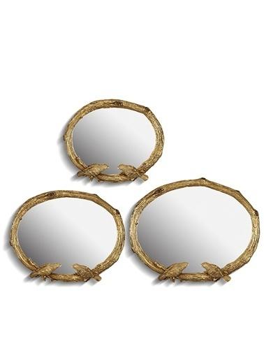 3 Lü Birds Ayna Altın,Alt-Noble Life